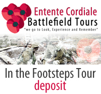 Entente Cordiale Battlefield Tours Deposit